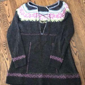 Free people size medium boho sweater